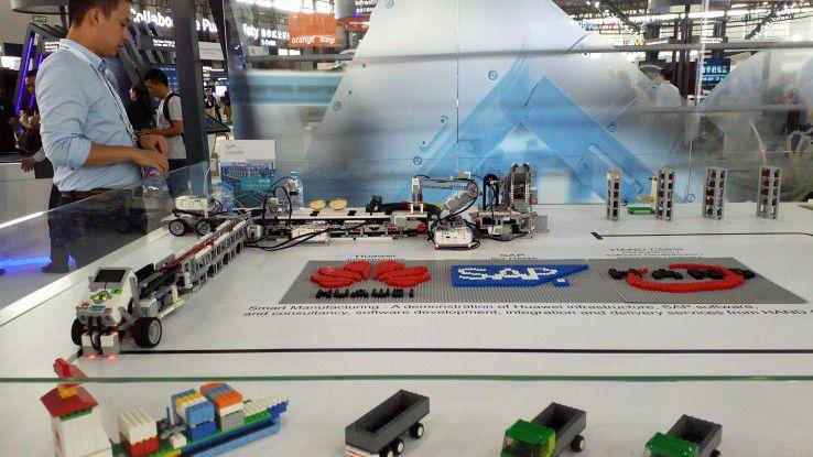 Insgesamt wird das Thema Partnerschaft bei Huawei großgeschrieben. Mit SAP arbeitet man in Sachen Smart Manufacturing zusammen.