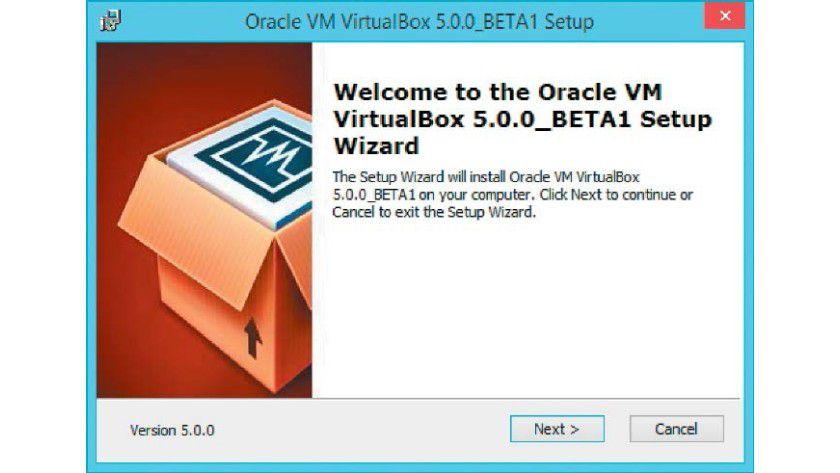 Der Setup-Assistent installiert Virtualbox samt der Netzwerktreiber innerhalb weniger Minuten auf Ihrem Windows-System.
