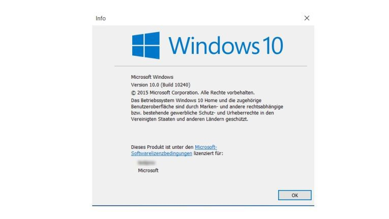 Build 10240: So geht Windows 10 an den Start.