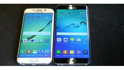 First Look: Samsung Galaxy S6 Edge + im ersten Hands-On