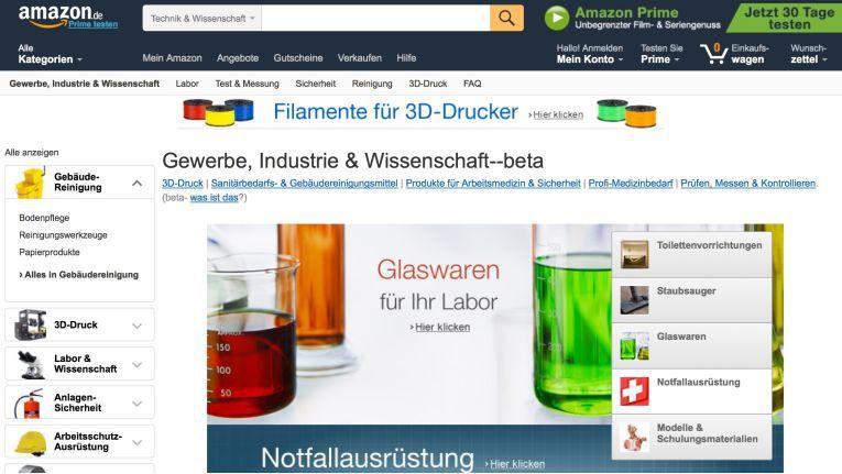 Haben deutsche Unternehmen darauf gewartet? Bei Amazon.de gibt es nun auch Business-Artikel