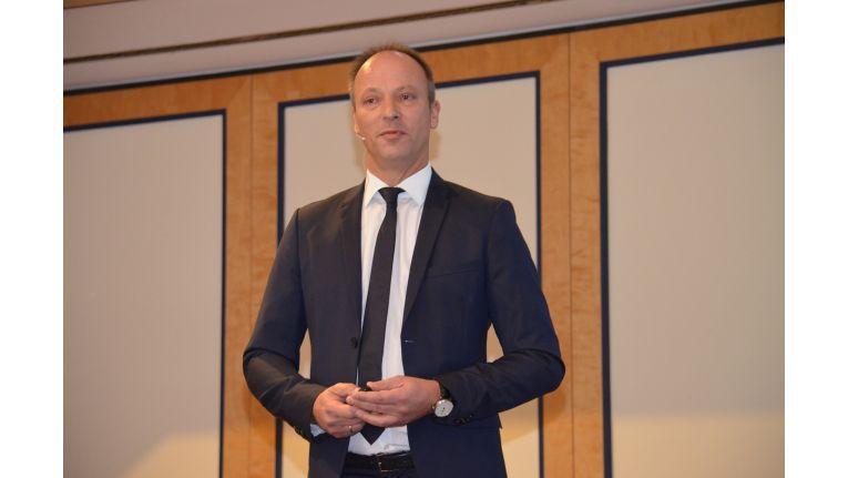 Büroring-Vorstand Ingo Dewitz: eröffnete die neuen Büroring Office Innovation Days.