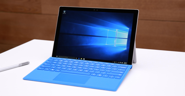 Windows-Tablet: Microsoft Surface Pro 4 im Test - Foto: Microsoft