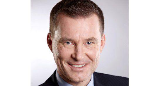 Peter Rohrbach, Cellent AG, freut sich auf die Perspektiven im internationalen Konzern.