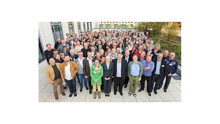 Geballte Händler-Power: Zum diesjährigen Lexware-Händlertreffen reisten 220 Fachhändler für die zwei Tage dauernde Veranstaltung nach Berlin.