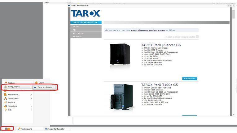 Mit dem Tarox-Konfigurator können nahezu 2.800 Mitglieder aus Einkaufsverbünden individuelle Systeme komfortabel zusammenstellen.