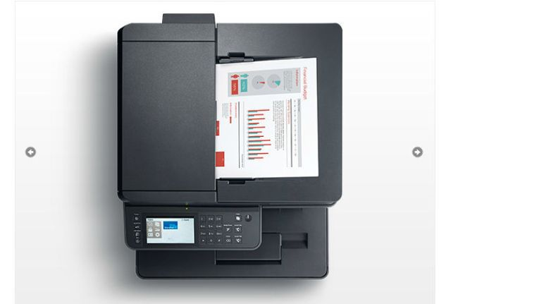 "Dell Multifunktions-Printer ""S2825cdn"" kostetn knappe 400 Euro."