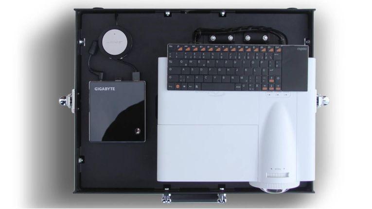 Easybeam Beam Case Fly: Eine mögliche Ausstattungsvariante.