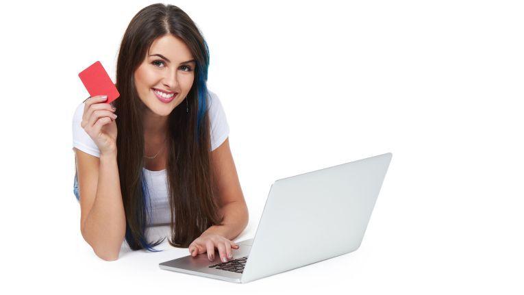 Nur jede 10te Online-Transaktion wird per Kreditkarte ausgeglichen.
