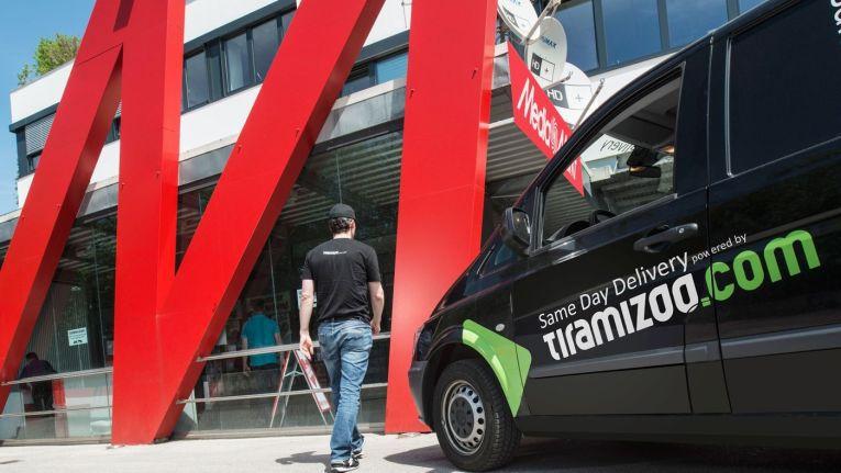 Für die taggleiche Lieferung setzt Media-Saturn weiterhin auf den Same-Day-Delivery-Dienst tiramizoo