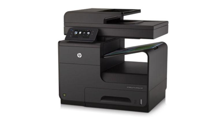 HPs Officejet Pro ist der einzige Tintenstrahler unter den dominierenden Laserdruckern.