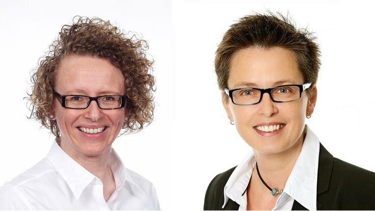 Simone Blome (links) wird Geschäftsführerin Solutions und Sylke Rohbrecht wird Geschäftsführerin Supply bei Also Deutschland.