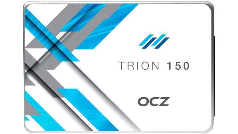 Günstiger TLC-Speicher der japanischen Mutter Toshiba und die Abwärtskompatibilität zu SATA II machen die Trion 150 SSDs zu günstigen Notebookbeschleunigern.