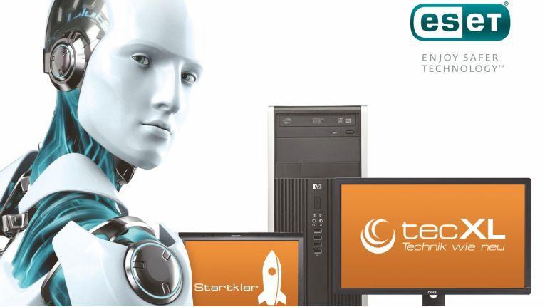 Zum 1. Februar 2016 startet die Kooperation. Dann erhalten alle recycelten TecXL-Notebooks und -PCs eine Jahreslizenz der Sicherheitslösung Eset Smart Security.