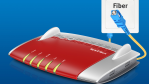 AVM auf der FTTH Conference: Erste FritzBox für den Glasfaseranschluss - Foto: AVM