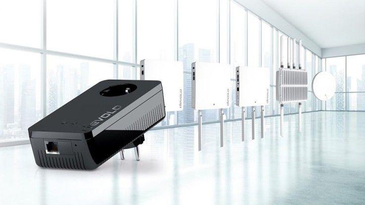 Wer die brandneuen WLAN-Produkte von Devolo in Augenschein nehmen will, kann dies auf der CeBIT in Halle 13 tun.