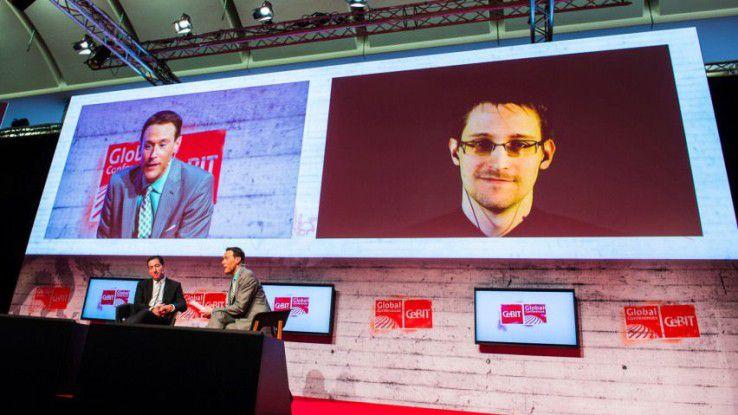Wie auf der CeBIT 2016 wird auch in diesem Jahr wieder Whistleblower Edward Snowden per Video zu Wort kommen.