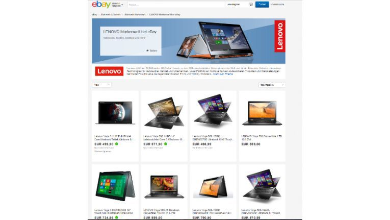 Lenovo Markenwelt