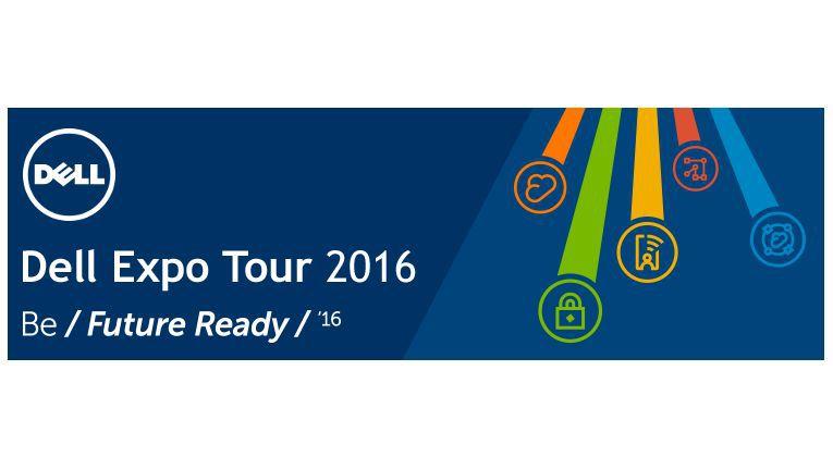 Interessante Einblicke und individuelle Gespräche für Fachhändler, versprechen Distributor und Hersteller ihren Partnern bei der Dell Expo Tour 2016.