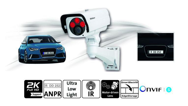 Mit der DF5200HD-IR-ANPR bringt Dallmeier eine neue Spezialkamera auf den Markt, deren Bilder für die automatische Erkennung von Fahrzeugkennzeichen optimiert sind.
