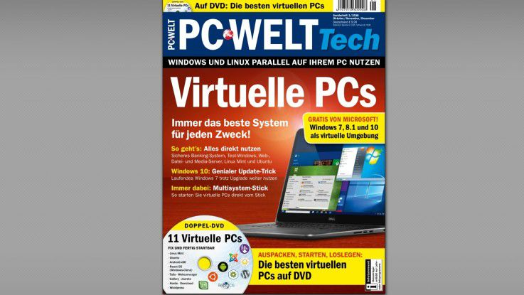 Sonderheft Virtuelle PCs: Kostenloser Download