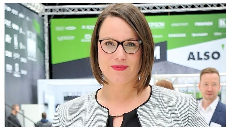Sabrina Hoefs, Head of Marketing der Also Deutschland GmbH, freut sich über den Erfolg der Messe und gab bereits den Termin für 2017 bekannt.