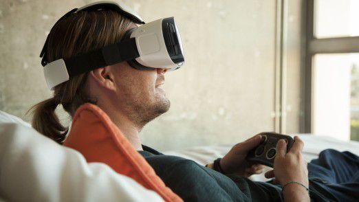 Samsung treibt Virtual Reality mit allen Mitteln voran. Auf dem diesjährigen Mobile World Congress wurde etwa die gesamte Keynote des Unternehmens über VR-Brillen übertragen.