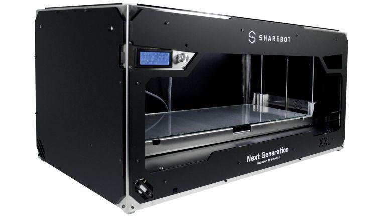 Der Sharebot XXL sei ein einzigartiges Gerät mit umfangreicher Druckfläche, schwärmt der Distributor. Modelle bis zu einem Format von 700 x 250 x 200 mm können in einem Stück gefertigt werden.