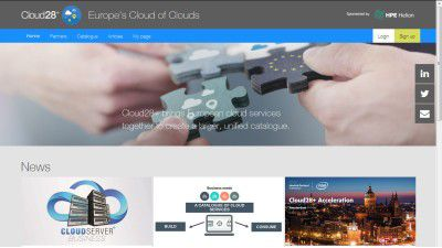 Cloud Services in Europa: Meine Cloud, mein Umsatz - Foto: http://www.cloud28plus.eu/