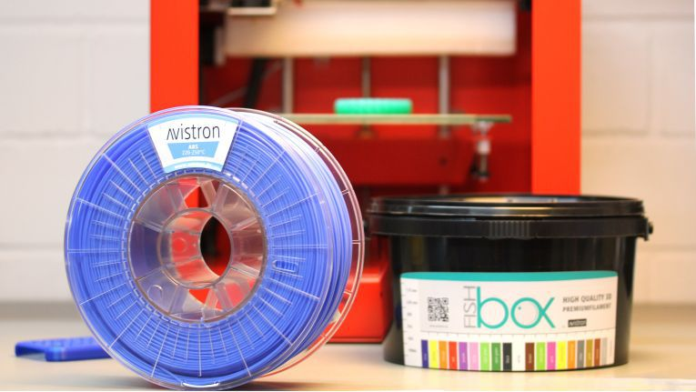 Neue Marke für 3D-Druck Filamente: Avistron ist die Eigenmarke des Distributors Siewert & Kau.