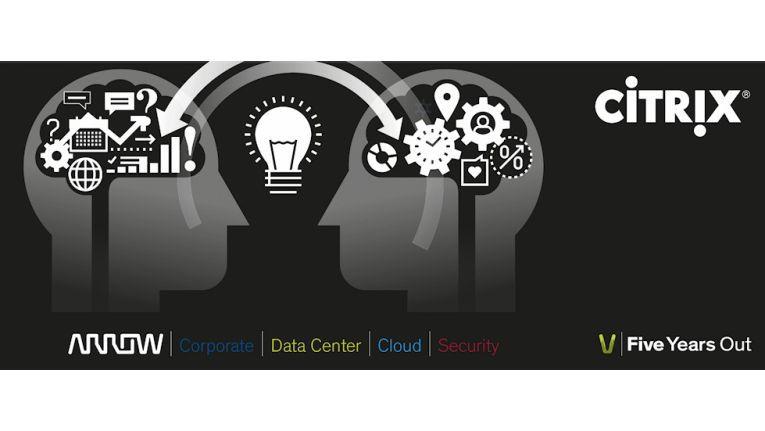 """Arrow ECS und Citrix informieren während ihrer Roadshow über den """"Software Defined Workspace""""."""