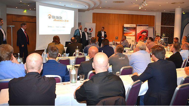 Über 50 Teilnehmer besuchten die Veranstaltung in Hamburg.