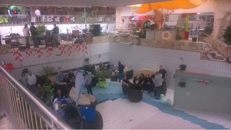 Das diesjährige Barbecue von Softeninge fand im Hallenbad in Landau in der Pfalz statt.