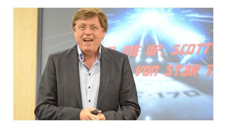 Prof. Dr. Ulrich Walter, Diplom-Physiker und Wissenschafts-Astronaut, Lehrstuhl für Raumfahrttechnik, Technische Universität München Foto: Foto Vogt
