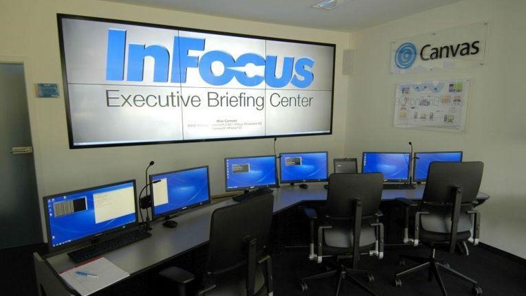 In Dreieich können InFocus-Partner mit ihren Kunden die Produkte und Lösungen des amerikanischen Hersteller hautnah erleben.