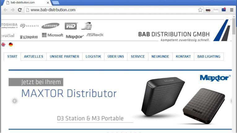 Die BAB-Homepage wurde von den Fälschern mit sämtlichen Unterseiten bis ins Detail kopiert.