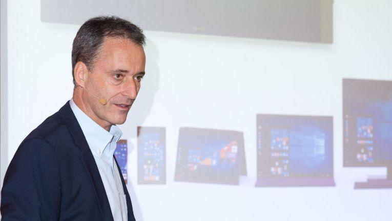 Für Oliver Gürtler war die Vorstellung des Anniversary Updates von Windows 10 eine der letzten offiziellen Amtshandlungen als Windows-Client-Chef bei Microsoft Deutschland.