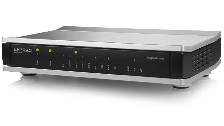 """Lancom Business-VoIP-Router 833"" für sichere All-IP-Migration"