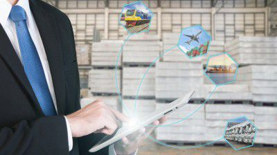 Digitale Transformation in der Logistik: Mit Predictive Analytics effizienter ausliefern - Foto: Prasit Rodphan - Shutterstock.com