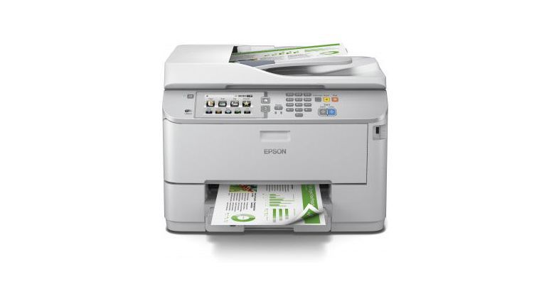 "Business-Tintenstrahldrucker ""Epson WorkForce Pro WF-5690DWF"" für 654,50 Euro."