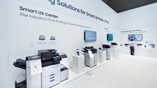 Auf der IFA in Berlin hat Samsung noch sein Druckerportfolio präsentiert. Nun gibt es ernsthafte Gerüchte um einen Verkauf der Sparte an HP.