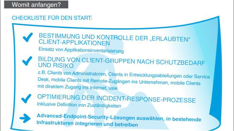 Checkliste Security Computacenter