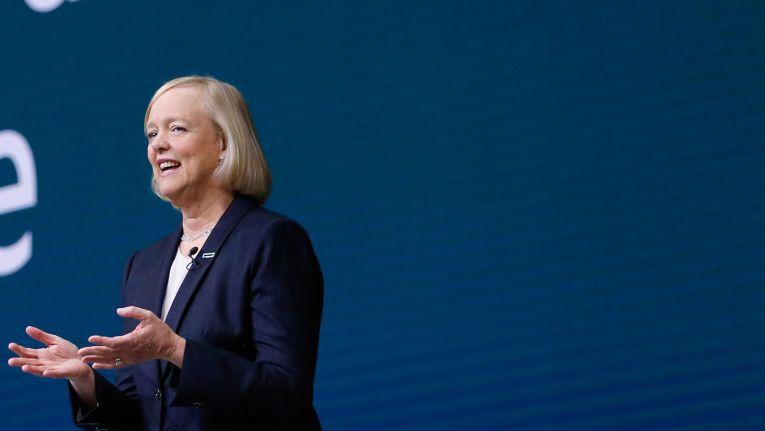 Meg Whitmanm, CEO von Hewlett-Packard Enterprise, eröffnete den zweiten Tag der Global Partner Conference.