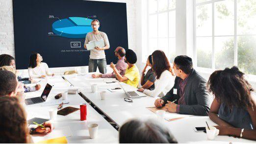 Projektmanager müssen den Überblick behalten und Probleme erkennen.