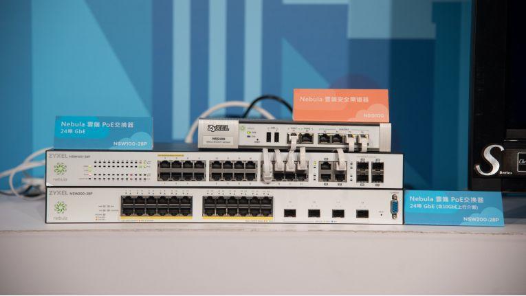 Die via Nebula steuerbaren Zyxel-LAN-Switches NSW100 und NSW200.