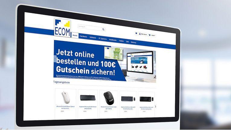 Viele zusätzliche Funktionen machen es registrierten Kunden einfacher, ihre Einkäufe bei Ecom abzuwickeln.