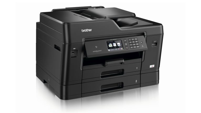 Business-Ink-Multifunktionsgerät MFC-J6930DW von Brother scannt, kopiert und druckt vom DIN A6- bis zum A3-Format.