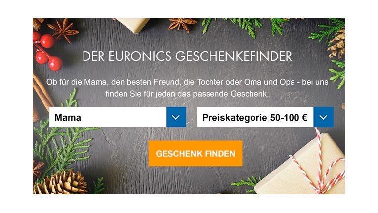 Smarter Assistent für smarte Geschenkideen: Der Online-Geschenke-Finder von Euronics