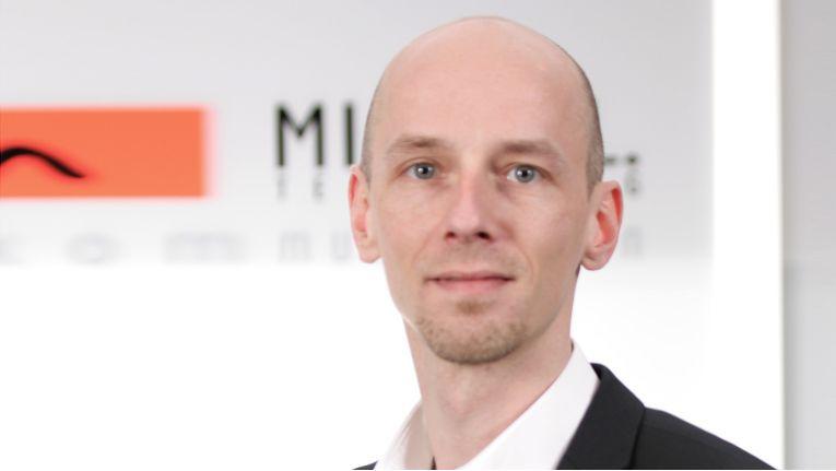 ''All-IP ist 2017 eines der Kernthemen'', Oliver Hemann, Prokurist und Mitglied der Geschäftsleitung beim TK-Distributor Michael Telecom.