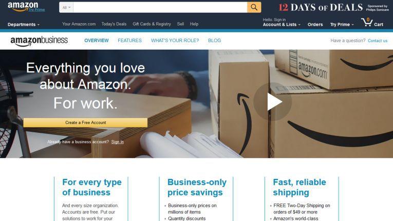 Auch Geschäftskunden in Großbritannien erhalten nun zugeschnittene Funktionen auf Amazon Business.